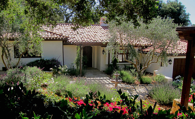 Small Spanish House Plans | Santa Barbara California Style Homes Photos Best Before After