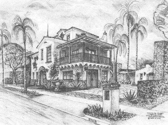 Spanish style home design and renderings