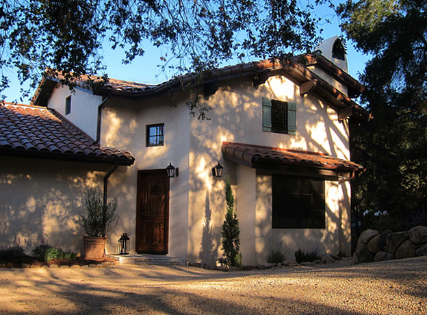 Santa barbara california style homes photos best before for Tuscan california
