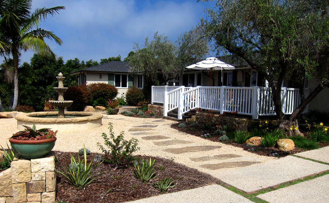 Cottage style homes on land in Santa Barbara CA real estate