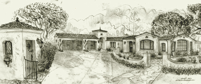 home designs and designers in montecito california - House To Home Designs