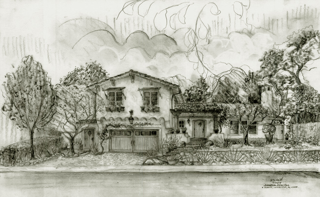 best house design drawings in Santa Barbara California drawings and images