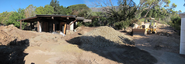 converting old historic structures in to homes in Montecito and Santa Barbara California photo