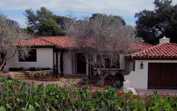 quality small spanish homes in montecito photo