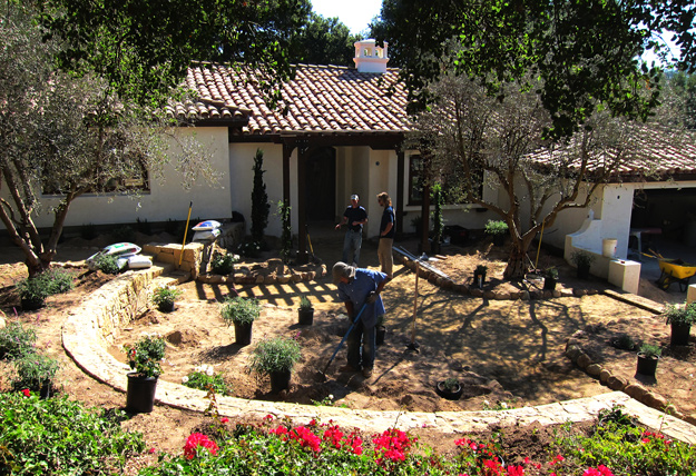 Montecito Small Spanish Home And Landscape Designers