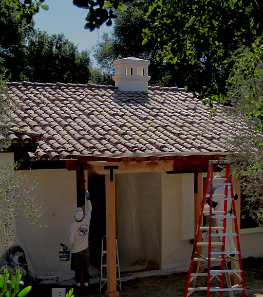 Quality paint and stain Montecito California resources for small Spanish style homes