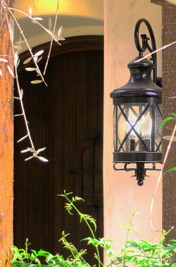 affordable outdoor lighting for spanish style homes