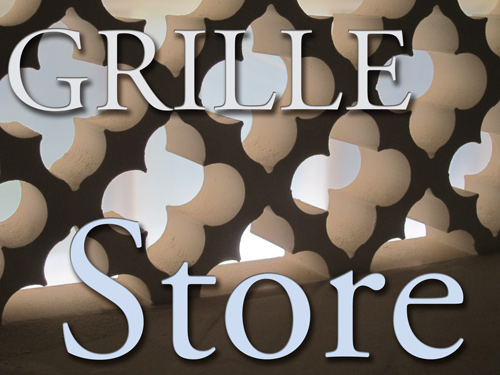 Online Store for Decorative Grilles, air vent covers and artistic designs in Registers for Spanish Homes