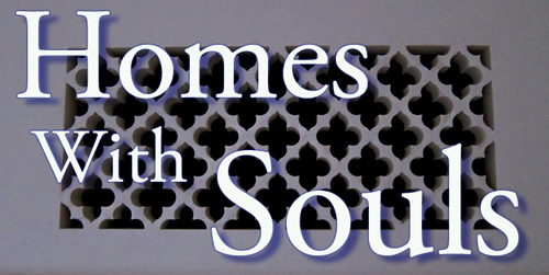 Decorative Plaster Grilles for Spanish Revival Homes, photos, images, resources at Santa Barbara Home Designer website