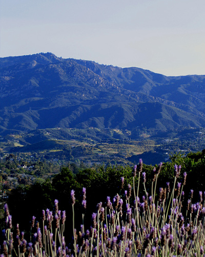 Santa Barbara California landscape photos.  Copyright by Jeff Doubet