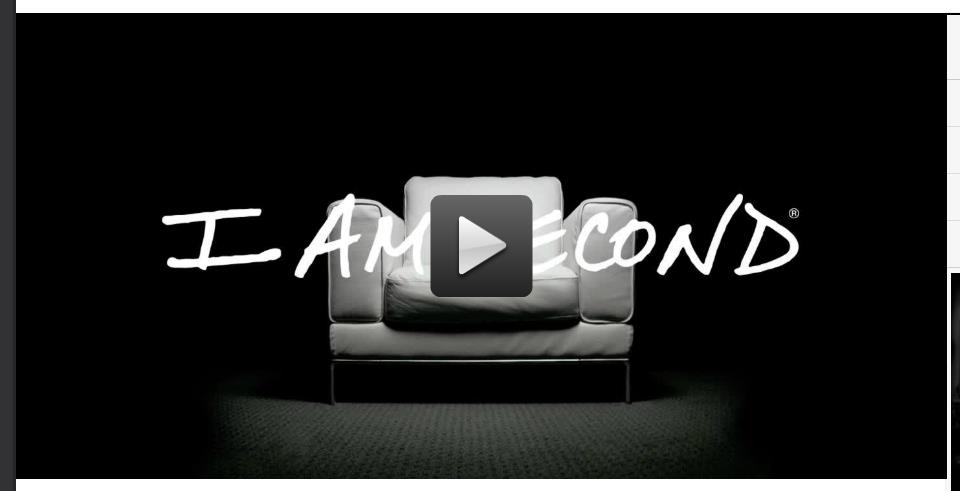 iamsecond.com direct link to short films and testimonies like Chip and Joanna Gaines