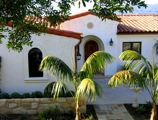 santa barbara spanish revival home - Ca Home Design
