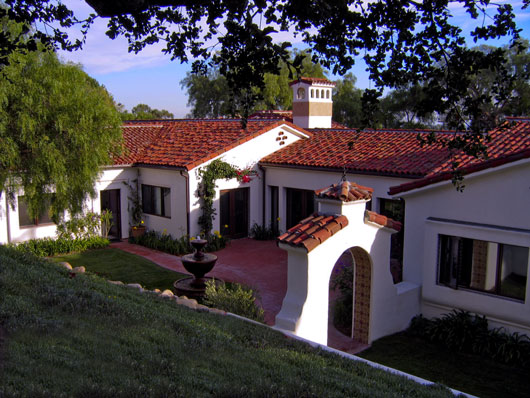 Santa Barbara Spanish Revival Estate by Designer Jeff Doubet