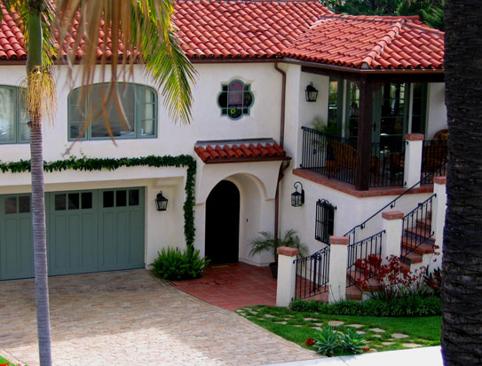 Santa barbara california style homes photos best before for Spanish colonial exterior paint colors