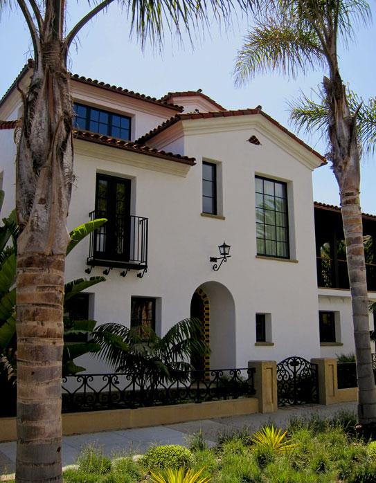 Santa Barbara Home Design For Spanish Style Houses.  Spanish_Colonial_Revival_Design_in_Santa_Barbara