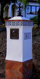 Spanish Mailbox Designed by Jeff Doubet