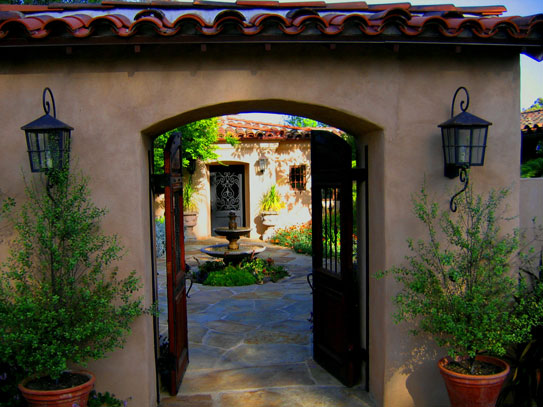 Woodley Road Montecito Spanish Home Renovation