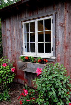 barn wood sheds and window boxes in santa barbara and montecito california photos