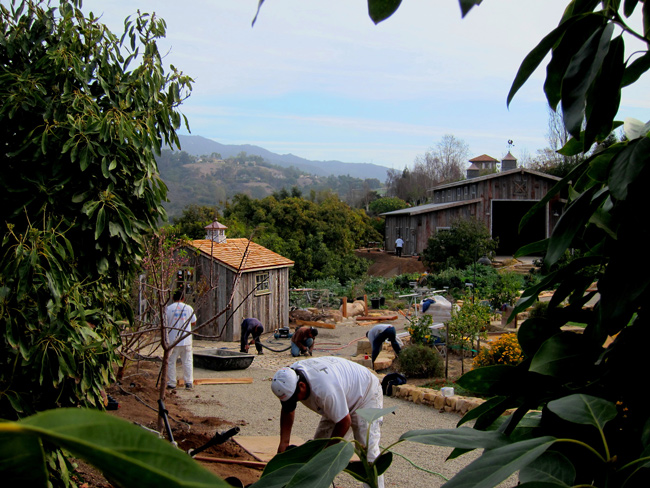 quality garden houses and sheds designed by local Santa Barbara designers photo