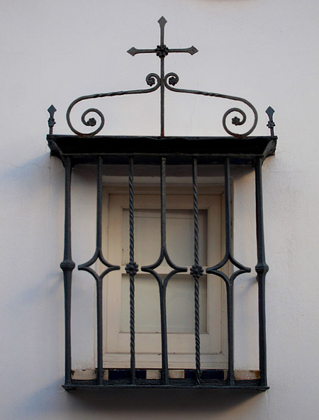 George Washington Smith wrought iron window grilles on Spanish homes inspired by the streets of Spain photos and images