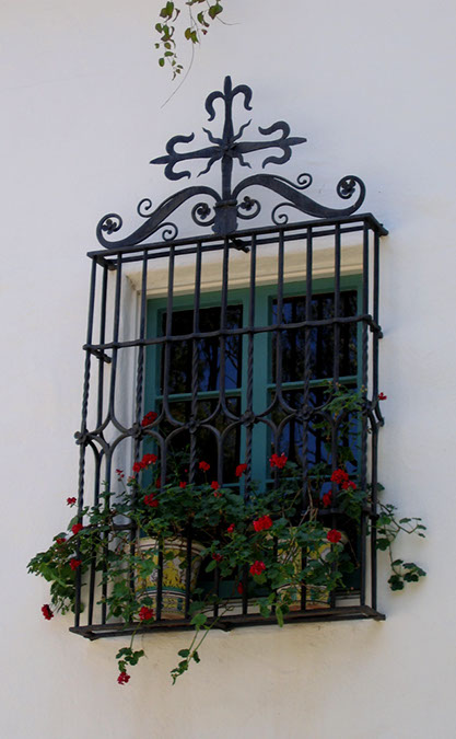 History of montecito and santa barbara influential architects designers and architecture - Decorative window grills ...