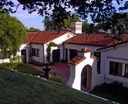 Spanish Revival Homes and Estates designed by Jeff Doubet in Santa Barbara and Montecito California