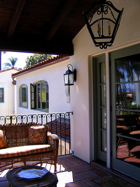 Contact information for Santa Barbara Home Design, designers of Santa Barbara classic Spanish style homes
