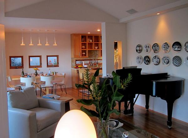 Santa Barbara Modern Cottage Design Landscapes Interior