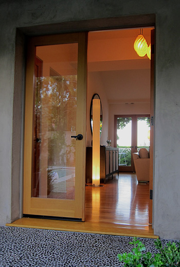 modern style cottage entry doors photo