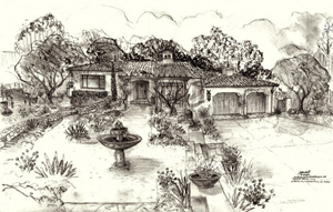 best Montecito home designers drawings