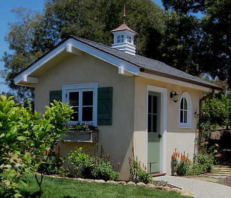 Quality she sheds designs and designer photos and images for Home designs and granite santa barbara