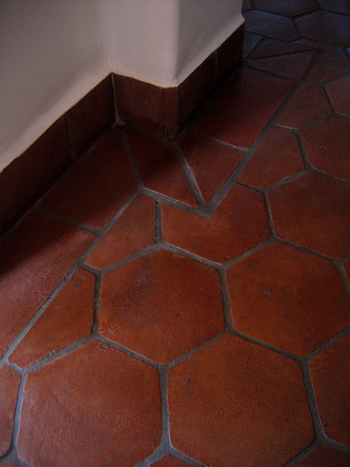 Spanish style homes in santa barbara california designers for Spanish style floor tiles