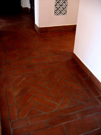 Spanish style homes in santa barbara california designers for Spanish style floor tiles