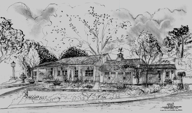 farm house designs landscapes and drawings