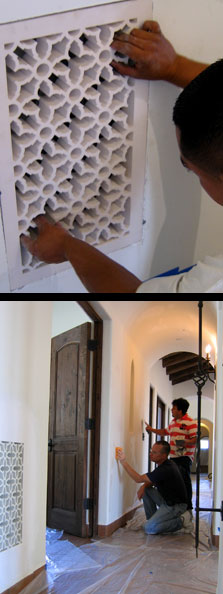 Spanish Revival Grilles